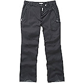 Craghoppers Mens Kiwi Pro Stretch Hiking Trousers - Grey