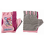 Kidzamo Girls Protective Cycle Glove / Mitt with Bella Pink Design