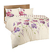 Dreams 'N' Drapes Eleanor Duvet Set in Pink - King