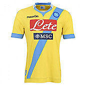 2013-14 Napoli Authentic 3rd Match Shirt - Yellow