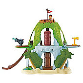 Fisher-Price Jake And The Neverland Pirates Magical Tiki Hideout