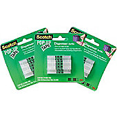 Scotch Pop-up Tape Refill Multi-Pack for The Scotch Hands Free Dispenser - 3 Packs