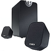 ACOUSTIC ENERGY AEGO M SUBWOOFER/SATELLITE SPEAKER PACKAGE BLACK