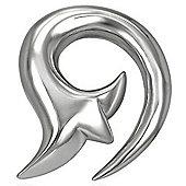 Urban Male 5mm Gauge Stainless Steel Tribal Design Ear Expander