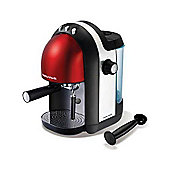 Morphy Richards Meno 47586 Espresso Coffee Maker - Red