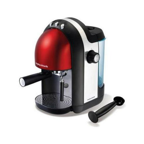 Morphy Richards Meno Coffee Maker : Buy Morphy Richards Meno 47586 Espresso Coffee Maker - Red from our Espresso Machines range - Tesco