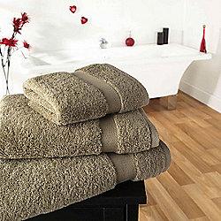 Supreme Egyptian Cotton Towel Beige Face Cloth