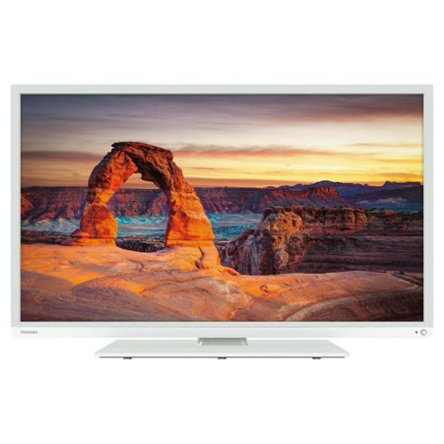 Toshiba 40L1354B 40 Inch Full HD 1080p LED TV With Freeview HD - White
