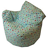 Kaikoo Kid's Funzee Chair - Cotton Blue Multispot