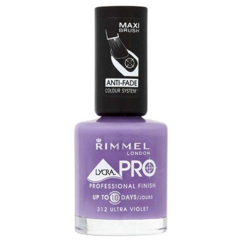 Rimmel Lycra Pro Nail Polish - Ultra Violet