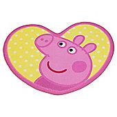 Peppa Pig Heart Rug