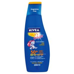 Nivea Sun Baby Lotion SPF50+ 200ML