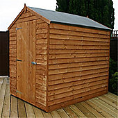 7ft x 5ft Windowless Overlap Apex Shed