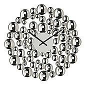 Premier Housewares Circle Bubble Wall Clock