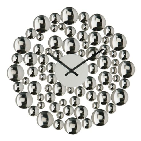 Premier Housewares Circle Bubble Wall Clock