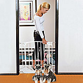 Bindaboo Easy Close Pet Security Gate White