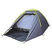 Tesco 3-Man Grey & Green Dome Tent
