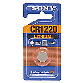 Sony CR1220 Lithium Coin Battery