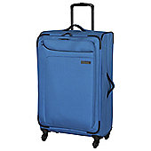 IT Luggage Megalite 4-Wheel Suitcase, Methyl Blue Medium