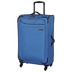 IT Luggage Megalite 4-Wheel Suitcase, Methyl Blue Medium