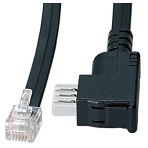 Vivanco Fax/Modem TAE N Plug to RJ12 Plug 10 Metre Extension Lead