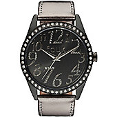 French Connection FCUK Ladies Stainless Steel Stone Set Watch FC1012BB