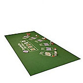 Cq Poker/Texas Holdem & Blackjack Reversible Table Cloth/ Felt/ Mat/ Layout