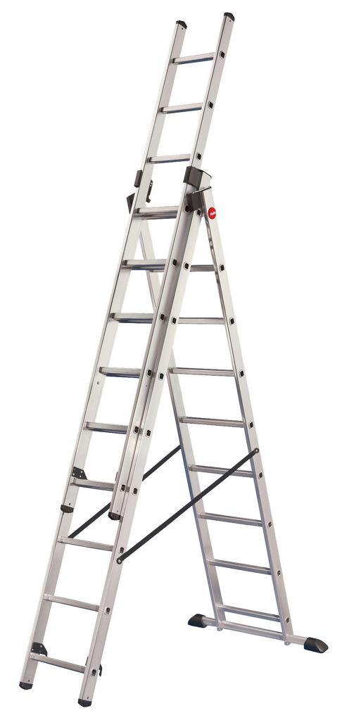 Hailo 662cm ProfiStep Combi Aluminium Combination Ladder