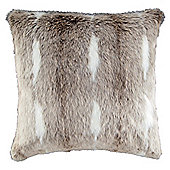 Light Naturals Faux Fur Cushion