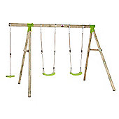 Plum Loris Wooden Pole Swing Set