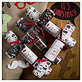 Tom Smith Festive Selfie Christmas Crackers, 6 pack