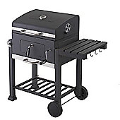 Toronto Charcoal BBQ Grill - With Side Table
