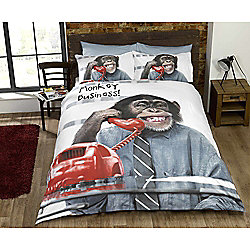 Rapport Monkey Business Quilt Cover Set - Single