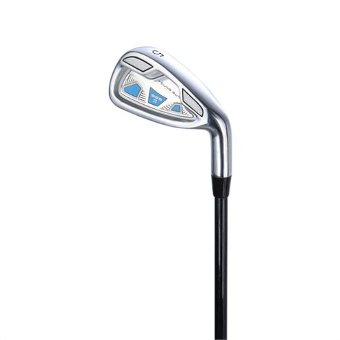 Young Gun Sgs V2 Junior Golf Club 7 Iron Right Hand Blue Age 6-8