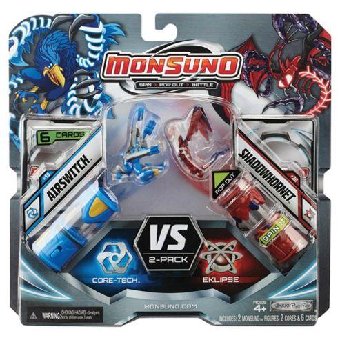 Monsuno Core Combat 2 Pack W2 Airswitch