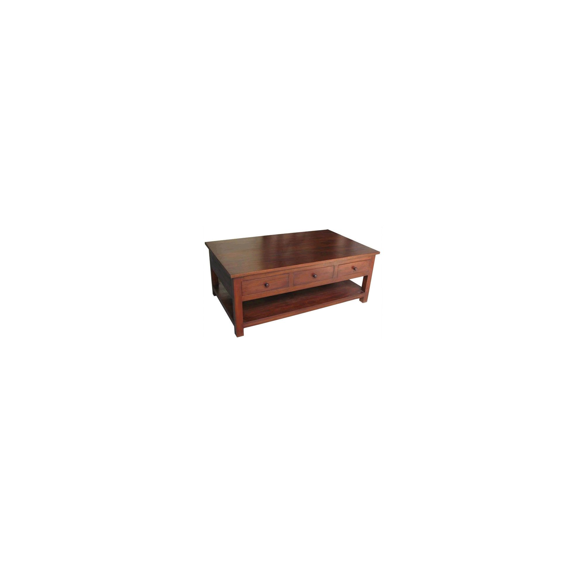 Lock stock and barrel Mahogany Leafield Coffee Table in Mahogany at Tesco Direct