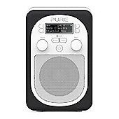 Pure Evoke D2 Mio with FM, DAB and Bluetooth in Charcoal