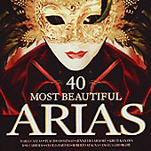 40 Most Beautiful Arias 2Cd
