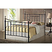 Birlea Bronte Metal Bed Frame - Double - Black