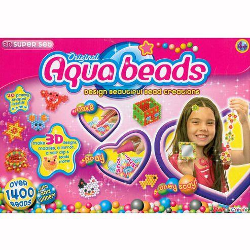 Aqua Beads 3D Super Set