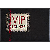 Wash & Dry by Kleen-Tex VIP Lounge Flat Bordered Rug - 50cmx75cm