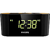 Philips AJ3570/12 Radio Alarm Clock - Black