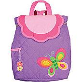 Children's Purple Butterfly Backpack