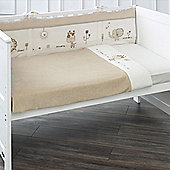 Natures Purest Sleepy Safari - 3 Piece Cot/Cot Bed Bedding Set