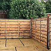 3FT Lap Panel Overlap Fencing Panel - 1 Panel Only 3'