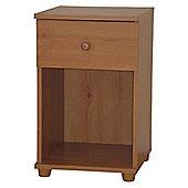 Stamford - Single Drawer Bedside Cabinet - Pine