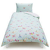 Tesco Kids Butterfly Single Duvet Set