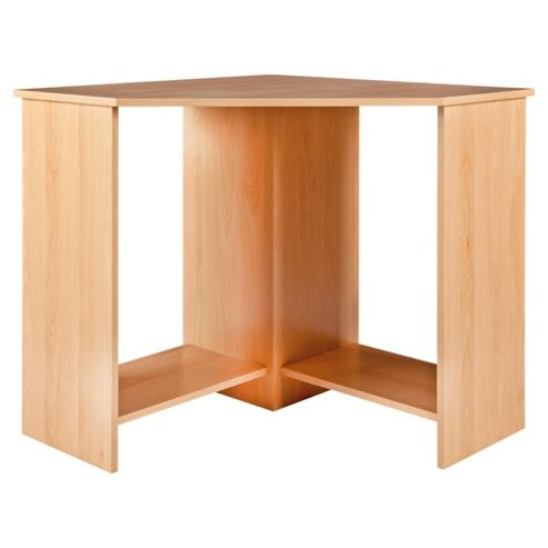 Buy collin corner desk beech effect from our office desks tables range tesco - Tesco office desk ...