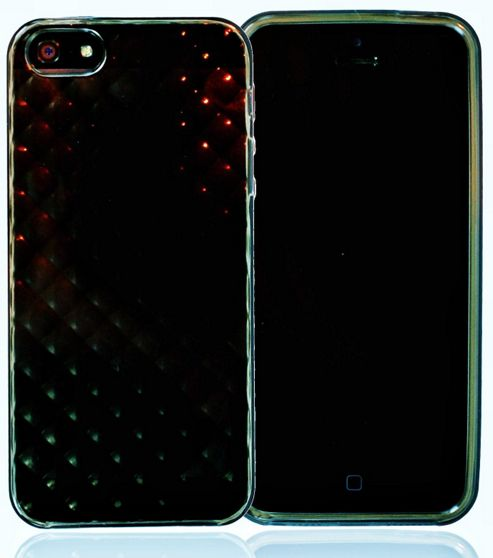 U-bop gSHELL Tough All Body Gel Case Smoke Black - For Apple Iphone 5