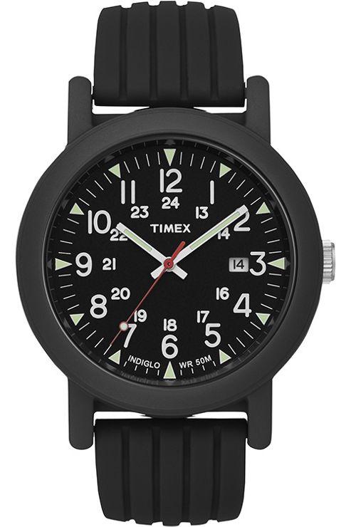 Timex Originals Ladies Rubber Strap Watch T2N719